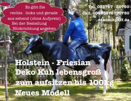 Holstein - Friesian Deko kuh - ja dann ran ans telefon 03376730750
