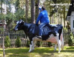 Holstein - Rind als Deko Kuh ...