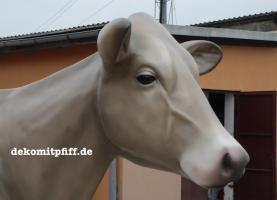 Foto 3 Holstein - Rind als Deko Kuh ...