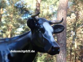 Foto 4 Holstein - Rind als Deko Kuh ...