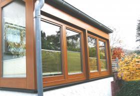 Holzfenster - und Wintergartenrenovierung