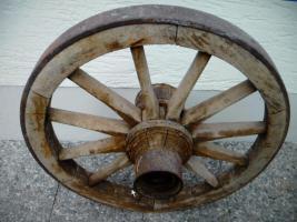 Holzrad Wagenrad