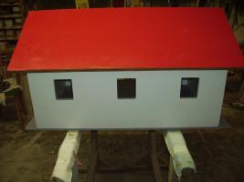 Foto 4 Holzspielzeug Nachbau von Garagen Hallen Häusern für Kinderspielzeug