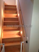 Foto 4 Holztreppe aus Polen, Trepe, Verkleidung von Betontreppe, Bolzentreppen, Treppengeländer