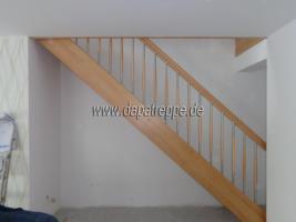 Holztreppen aus Polen, Treppe aus Holz, Verkleidung von Betontreppen, Treppengeländer