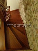 Foto 3 Holztreppen aus Polen, Treppe aus Holz, Verkleidung von Betontreppen, Treppengeländer
