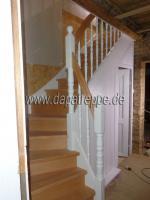 Foto 4 Holztreppen aus Polen, Treppe aus Holz, Verkleidung von Betontreppen, Treppengeländer