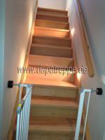 Foto 8 Holztreppen aus Polen, Treppe aus Holz, Verkleidung von Betontreppen, Treppengeländer