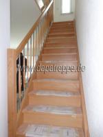 Foto 10 Holztreppen aus Polen, Treppe aus Holz, Verkleidung von Betontreppen, Treppengeländer
