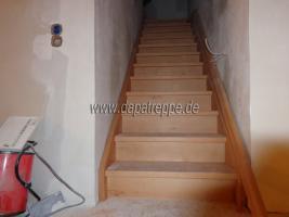 Foto 11 Holztreppen aus Polen, Treppe aus Holz, Verkleidung von Betontreppen, Treppengeländer