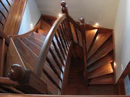 Foto 2 Holztreppen , Treppen aus Polen, Ture, Tur, Tore, CARPORT