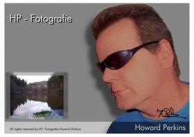 Howard Perkins originalsigniert