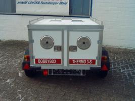 Foto 2 Hundeanhänger THERMO 3S von BOBBYBOX mit 3 Boxen und Staufach