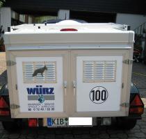 Foto 5 Hundeanhänger von Würz mit 2 Boxen