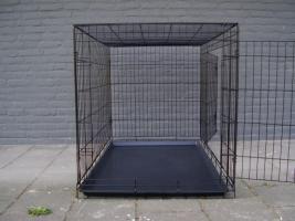 Hundebox Hundezwinger Neu im Box verschiedenen großen Schwarz