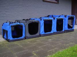 Hundebox Softbox Neu im Box Blau