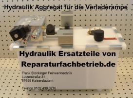 Hydraulik Aggregat für Verladerampe, Ladebrücke, Überladebrücke oder Hebebühne