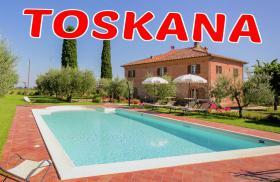 ITALIEN Toskana Ferien Villa in Cortona  mit Pool