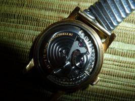 Foto 7 IWC Schaffhausen Herrenarmbanduhr Automatik Gold mit Datum Baujahr 1960