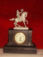 Foto 2 Ich biete eine einzigartige Uhr aus Marmor - France 1900.