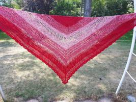 Foto 2 Ich häkel dir ein Tuch in Deinen Lieblingsfarben Unikat