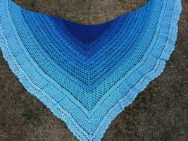 Foto 5 Ich häkel dir ein Tuch in Deinen Lieblingsfarben Unikat