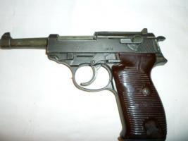 Ich suche eine Dekowaffe /Modellwaffe P38 von 1974 mit der BKA Rautennummer 51A