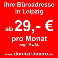 Ihre Büroadresse in Leipzig ab 29 €/Monat*