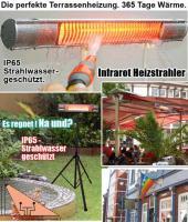 Foto 4 Ihre Terrasse mit dem besten Terrassenstrahler. Thermstar2000 IP65.