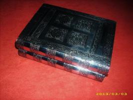 Foto 3 Indische Schatulle mit 24 Karat Vergoldeter Sammlung