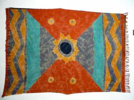 Indonesische Batik antik 160x113 T096