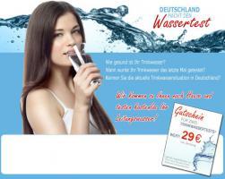 Info: Wie gesund ist Ihr Trinkwasser?