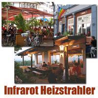 Foto 3 Infrarot Heizstrahler für Bad, Terrasse, Balkon. Noch sind die Sommerpreise aktuell.