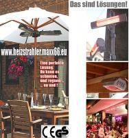 Foto 2 Infrarot Heizstrahler sind perfekt für Terrasse, Ferienhaus, Wohnmobil, Garten, usw.