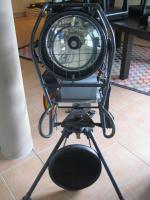 Infrarotscheinwerfer inclusive Nachtsichtgerät