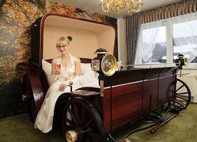 Inselnester Auszeit Hotel in romantischer außergewöhnlicher Ausstattung