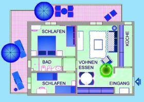 Foto 26 Italien-Adriaküste-Cesenatico-FamilienHotel-Ferienwohnung-Apartment-Zimmer-Meer-kinderfreundlich-