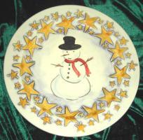 Foto 3 Italienische Weihnachtsteller - Bassano Keramik