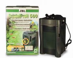 JBL Cristal Profi 500 - Hochleistungs-Außenfilter für Aquarien bis 500 Liter