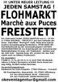 JEDEN SAMSTAG GROSSER BESUCHERSTARKER FLOHMARKT MARCHE AUX PUCES IN 77866  RHEINAU FREISTETT DISKOTHEK METROPOL !!! DIREKTE GRENZNÄHE ZU FRANKREICH !!!