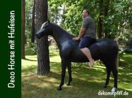 Foto 2 Ja was solln wir sagen ---- Deko Pferd mit Hufeisen --- ja dann bestelln ….