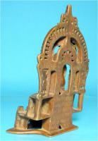 Foto 3 Jaina-Altar, Messingschreine, Hausaltar, Tirthankara Pärsva, Jain-Religion, Indien, Gelbguss, Skulptur, Jainismus,1627