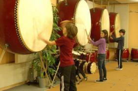 Foto 5 Japanisches Trommeln für Kinder und Jugendliche