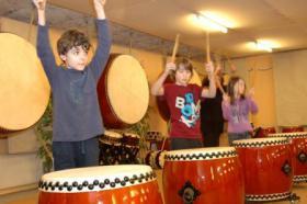 Foto 6 Japanisches Trommeln für Kinder und Jugendliche