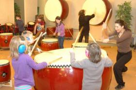 Foto 7 Japanisches Trommeln für Kinder und Jugendliche