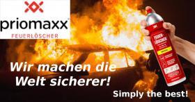 Jeder kann mit dem Priomaxx Feuerlöscher-Spray löschen