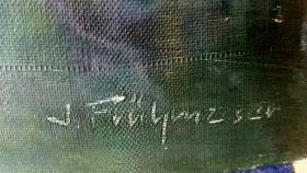 Foto 2 Josef/Joseph Frühmesser - Öl/Leinwand - Original mit Signatur! - TOP Maler