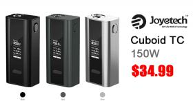 Joyetech CUBOID TC mod 150/200W E-Cig nur € 27