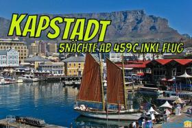 KAPSTADT Südafrika Cape Diamond Hotel 5Nächte ab 459€ inkl. Flug