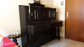 KLAVIER, PIANO mit Hocker, RARITÄT, ANTIK, ca 200 Jahre alt,